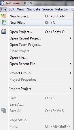 Nuevo Proyecto Java