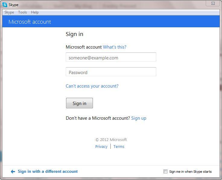 ... Window$ live Messenger o Facebook) seleccionamos iniciar sesion con  cuenta de Microsoft (nuestras credenciales de MSN) Image Image